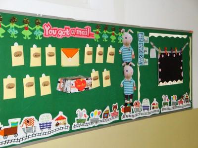 设计图分享 小学教室宣传栏设计图 > 仿古花格宣传栏设计图  仿古花格